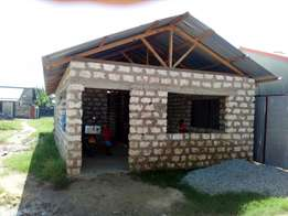 1 bedroom house for sale_ 70*40 plot behind masters Bamburi.