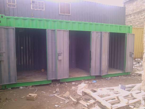 20ft Stalls Container with cut-out doors Ruiru - image 4