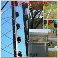 Fencing, Pallisades, Electric Fence