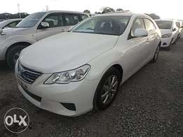 Toyota Mark X Year 2010 Model Automatic Transmission White Color KCN