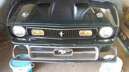 1972 Ford Mustang Grille
