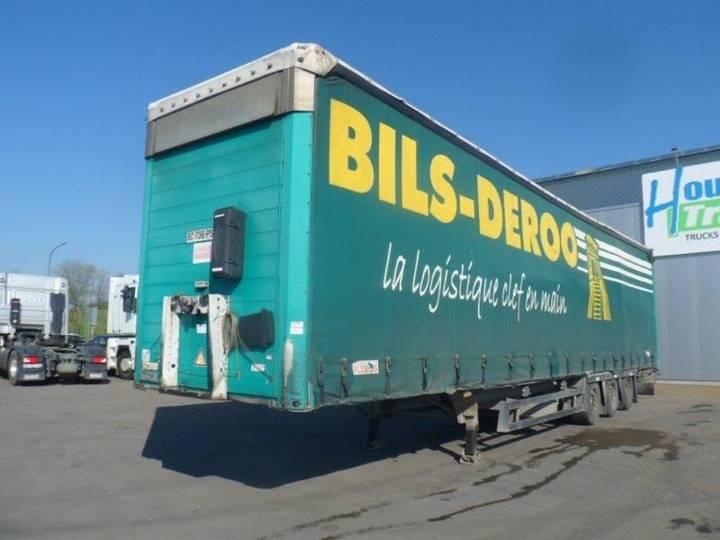 Schmitz Cargobull mega trailer - volume - 3m - 2004