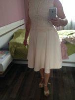 54bf4b277a Sukienka wesele impreza ORSAY rozkloszowana koronka stan IDEALNY 38 M