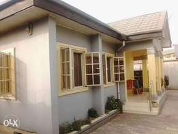 Detached 4bedroom bungalow with 2rooms bq in Rukpakulusi new layout,Ph