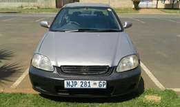 Honda ballade 160i 1998 swop for auto car