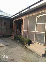 One room self-contained under renovation to let at Lagos street