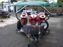 Easy Load Trailers with Nose Cones