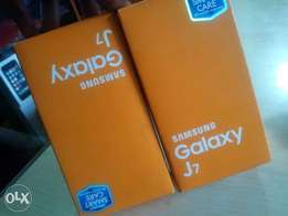 A brand new Samsung galaxy J7