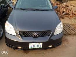 Clean Nigerian used Toyota Matrix