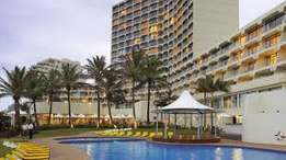 1 week's hotel accomodation for sale Umhlanga Sands in May 2017