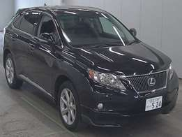 Lexus RX270, Foreign Used 2011 For Sale Asking Price 3,900,000/=