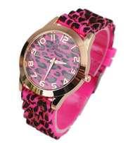 Geneva Leopard print Rose Red for women