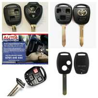 Car keys replacement and shells
