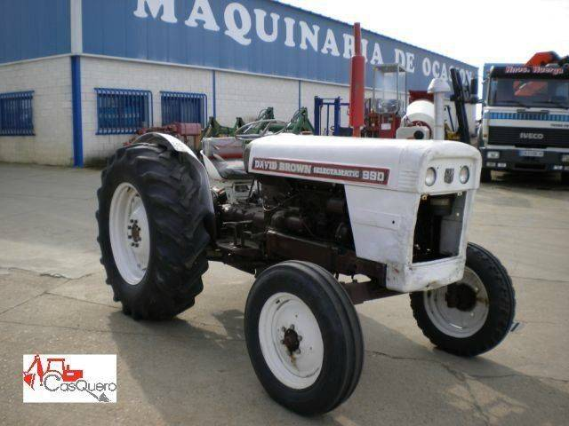 David Brown brown 990 mini tractor
