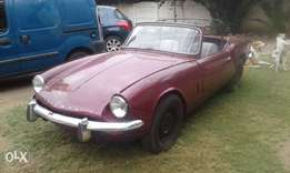 triumph spitfire for sale or to swop