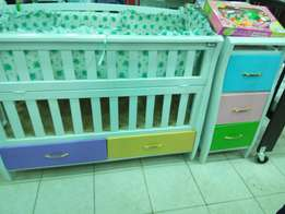 Cot pumpers, mattress plus cot