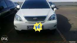 Toyota harrier 2008 model 2400cc
