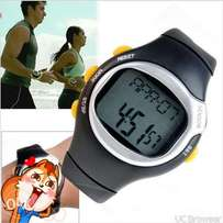 Dial Calorie Counter Pulse Heart Rate Monitor Sport Exercise Watches
