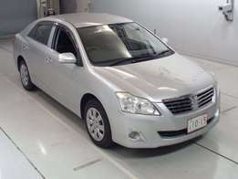 Toyota premio silver at 1.5m