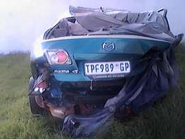Accident damaged cars and bakkies wanted immediately for cash at hand.