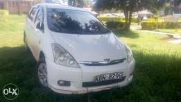 White Toyota Wish