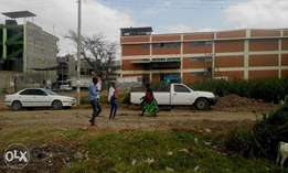 A prime commercial 1/8 acre for sale in Ongata Rongai CBD.