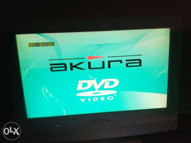 LCD Akura TV with inbuilt DVD Player (20 inches) for sale Abeokuta South - image 3