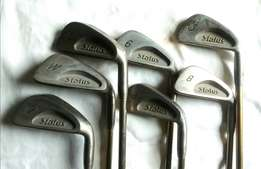 Golf Clubs Set. 3 - 9, P & S, putter and Driver