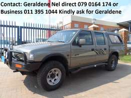 1996 Isuzu KB280 TD Double Cab 4x4 Good Condition Call Now to view