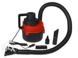 Wet/dry canister vacuum cleaner for the car