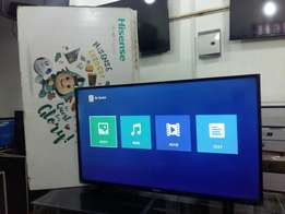 Brand New 43 inch Satellite & Digital HISENSE LED flat screen TV