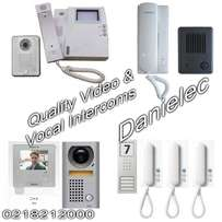 Intercom suppliers, installers and maintainers at Danielec
