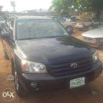 Nigerian Used Toyota Highlander, 2006. LIMITED. Very Okay No Issue.