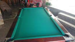 Pool table recovering/refelting