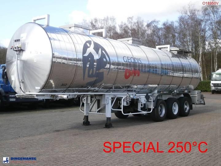 Maisonneuve Chemical tank inox 32.8 m3 / 1 comp - 1989