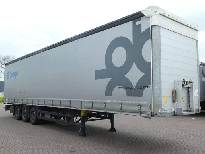 Schmitz Cargobull SCS24/L13.62 PAPER X liftaxle - 2016