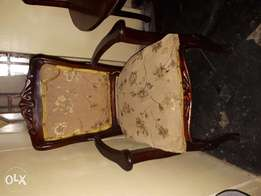 Used Antique dinning chairs