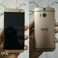 New HTC One M8 gold 32gb (just a week old)