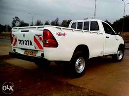 Hilux single cab local assembly