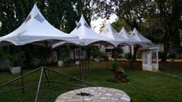 New tents for sale and hire.