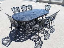 SALE on PatioSA's 8 seated sets. Durable,Beautifull,Practical