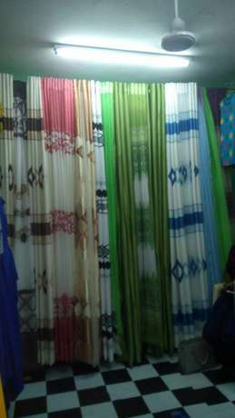 Ready made durable and elegant curtains with matching sheer. 900/- Bamburi - image 3