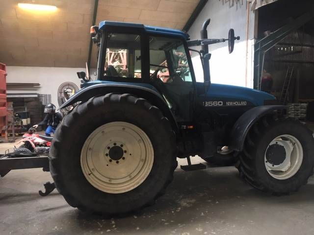 New Holland 8560dl - 2000