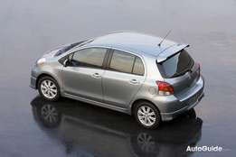 Hatchback Toyota Yaris wanted