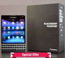 Blackberry Passport 4G LTE -(32GB -3GB Ram) -Brand New Sealed