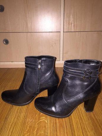 Buty skórzane Lasocki, jak nowe, rozmiar 36 damskie