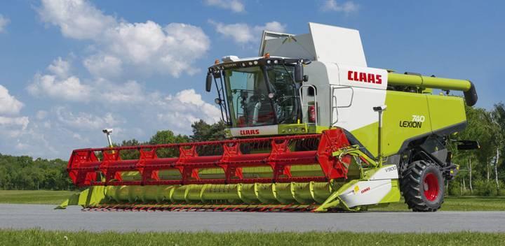 Claas Lexion 740 - 2012