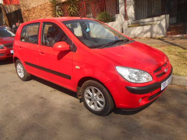 2006 Automatic Hyundai Getz 1.6 Hatchback with sound system for sale Johannesburg - image 1