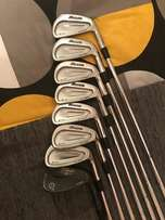 mizuno mp60 irons and titleist pitching wedge