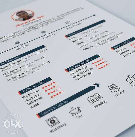 Give your CV/RESUME a Modern and Professional LOOK Falomo - image 1